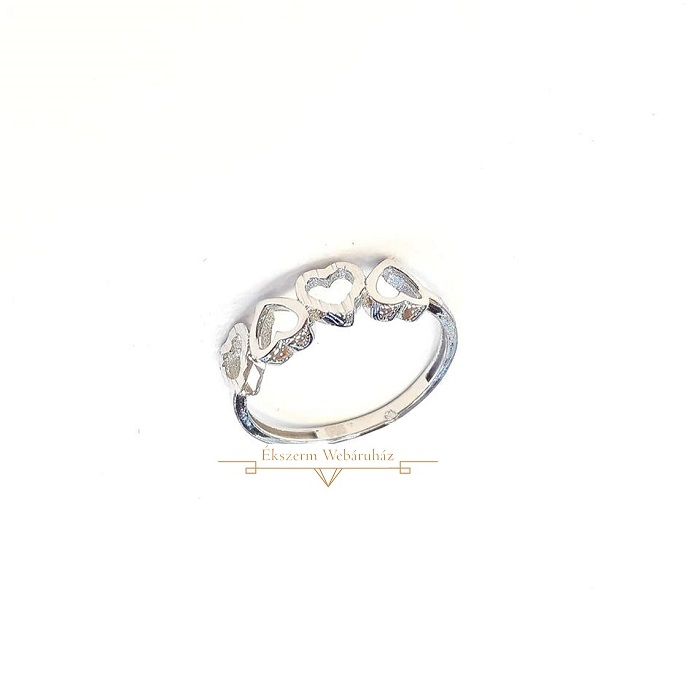 e221b2c5ce Fehérarany Gyűrű (méret:53) SG 49232