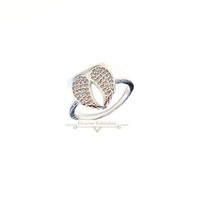 ddf0f5ce86 Fehérarany Gyűrű (méret:55) SG 49241
