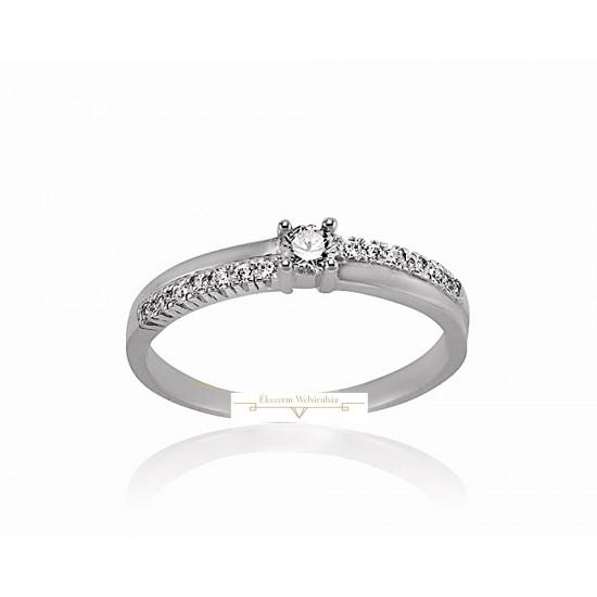 Rendelhető Fehérarany Gyűrű SZ13F
