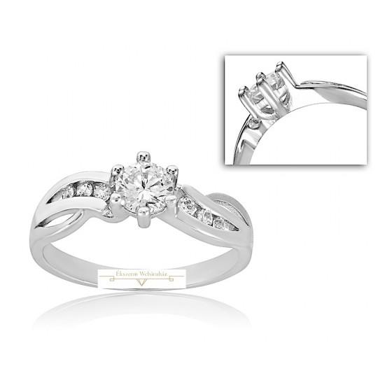 Rendelhető Fehérarany Jegygyűrű PP SZ18F