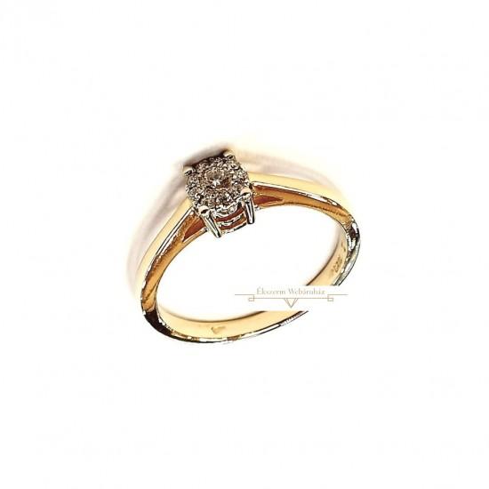 Brill Köves Gyűrű (méret:50) PP 59942