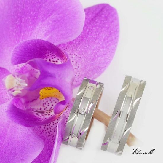 Ezüst Karikagyűrű E9